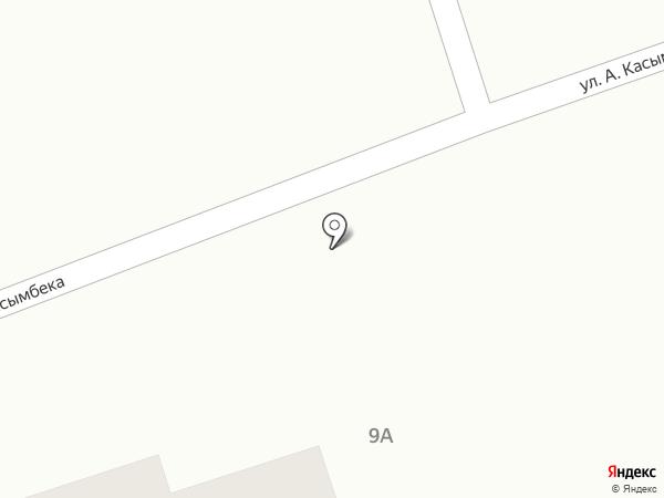 Береке на карте Туздыбастау