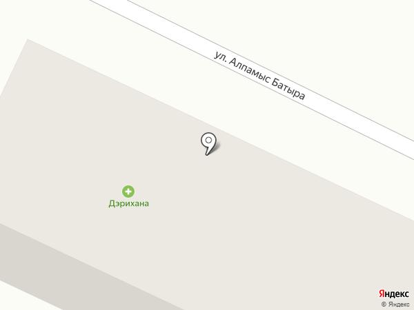 Жания на карте Туздыбастау
