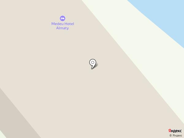 Участковый пункт полиции №83 на карте Алматы