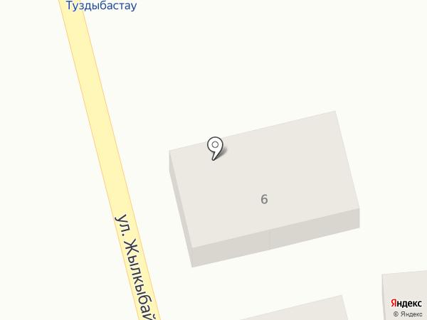 Арайлым на карте Туздыбастау