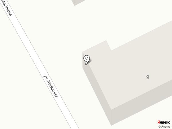Гульбастау на карте Туздыбастау