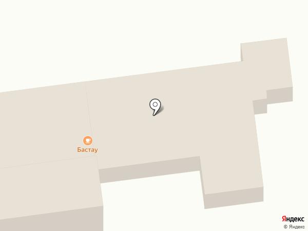 Бастау на карте Туздыбастау