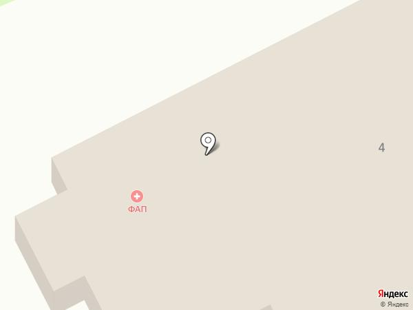 Фельдшерско-акушерский пункт на карте Березовки