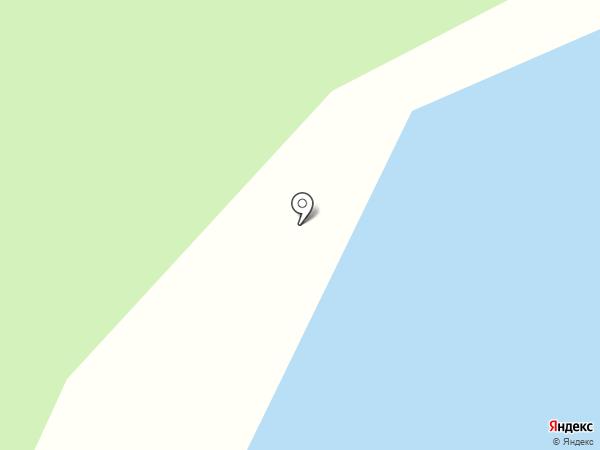 Бобровая заимка на карте Красного Яра