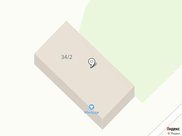 Миледи Н на карте Красного Яра