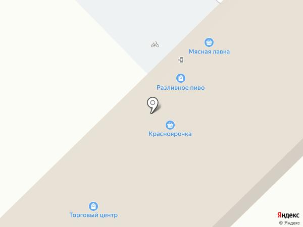 Красноярочка на карте Красного Яра