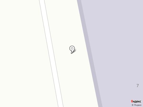 Ахмировская средняя школа на карте Усть-Каменогорска