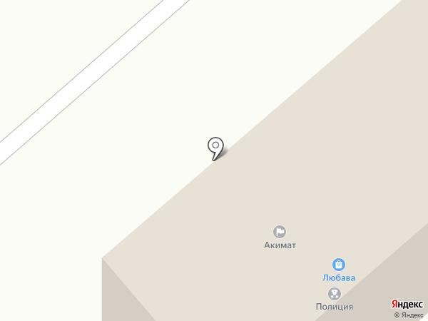 Любава на карте Опытного поля