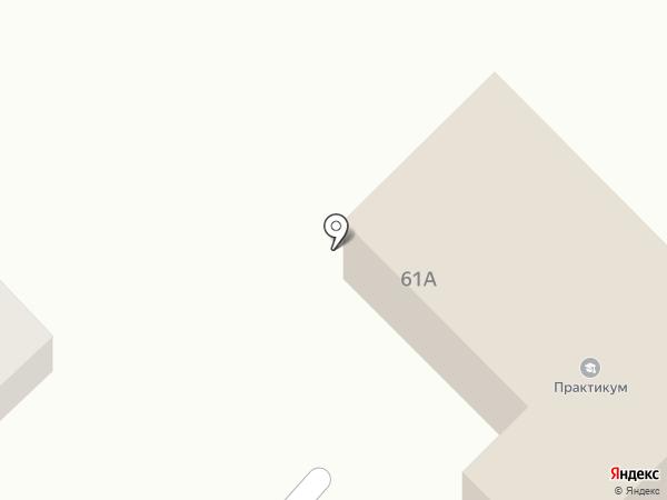 Танаш на карте Усть-Каменогорска