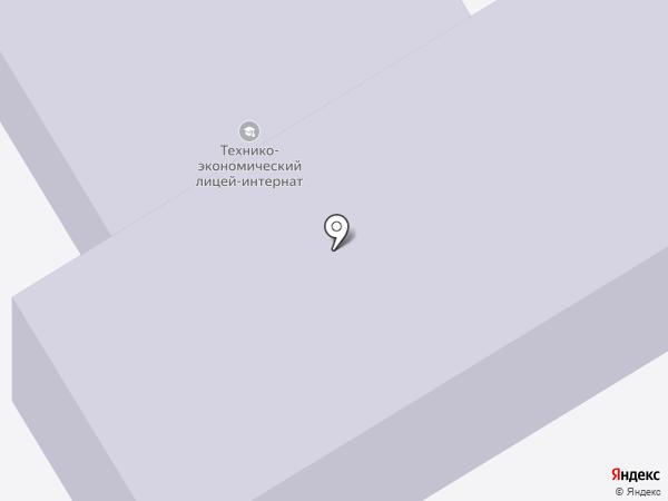 Областная специализированная школа-лицей-интернат для одаренных детей на карте Усть-Каменогорска