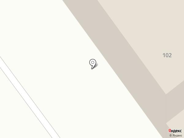 Восточно-Казахстанское отделение дороги на карте Усть-Каменогорска