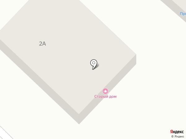 Старый Дом на карте Усть-Каменогорска