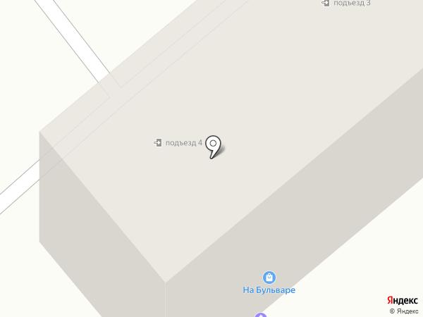 На Бульваре на карте Усть-Каменогорска