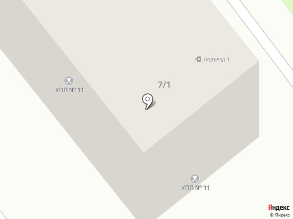 Участковый пункт полиции №11 на карте Усть-Каменогорска