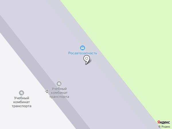 Восточно-Казахстанский Областной Учебный комбинат транспорта на карте Усть-Каменогорска