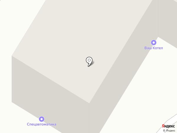 Фонд информационной поддержки развития общества на карте Усть-Каменогорска