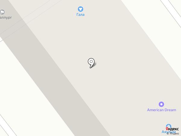 Аяулым на карте Усть-Каменогорска