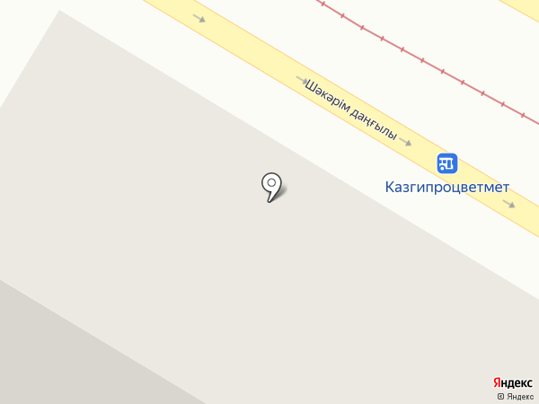 Хлеб-Соль на карте Усть-Каменогорска