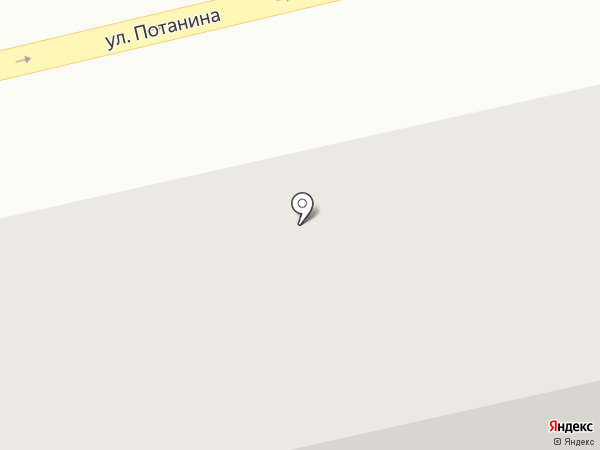 Елена на карте Усть-Каменогорска