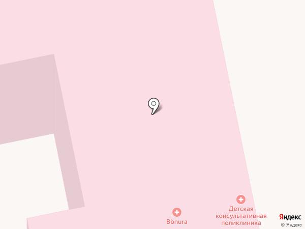 Центр матери и ребенка на карте Усть-Каменогорска