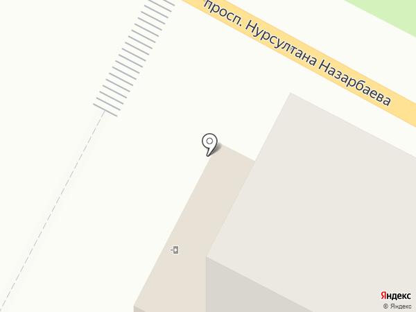 Лотос на карте Усть-Каменогорска