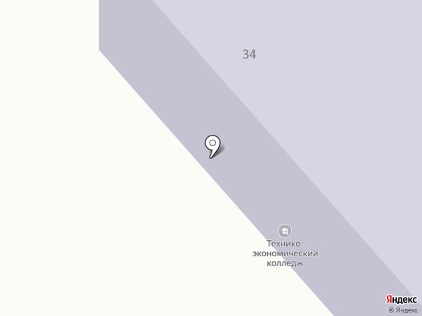 Восточно-Казахстанский технико-экономический колледж на карте Усть-Каменогорска