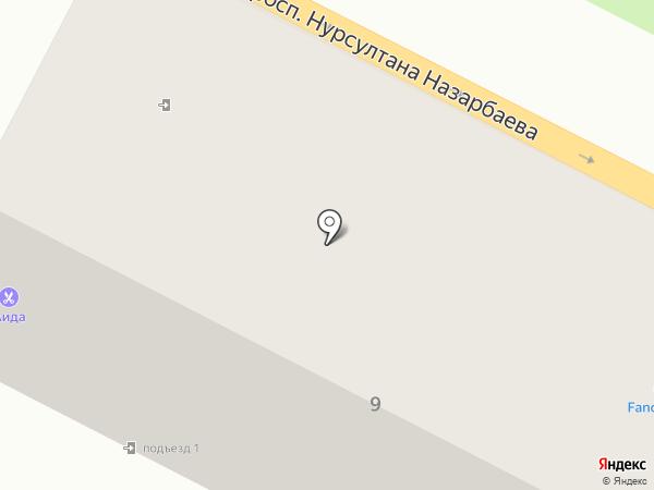 Kaz Credit Line на карте Усть-Каменогорска
