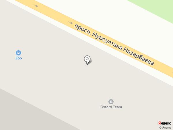 Эльдарадо на карте Усть-Каменогорска