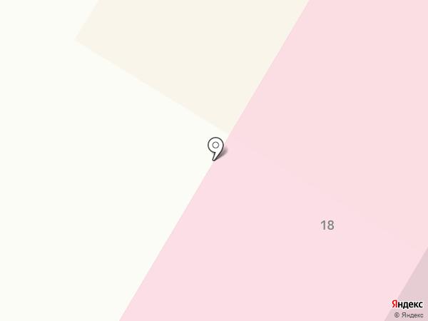 Поликлиника №1 на карте Усть-Каменогорска