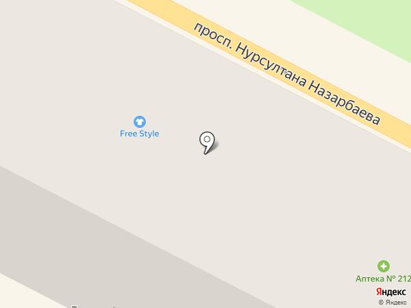 Аптека №212 на карте Усть-Каменогорска