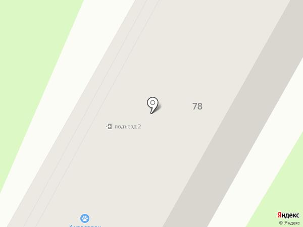 Ковчег на карте Усть-Каменогорска