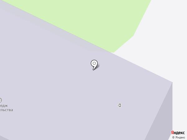 Учебный центр Усть-Каменогорского колледжа строительства на карте Усть-Каменогорска
