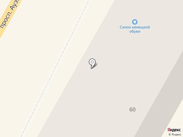 Бархат на карте Усть-Каменогорска