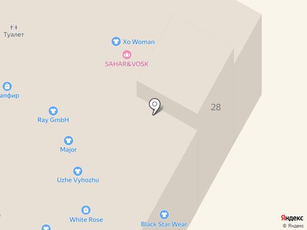 DELICE на карте Усть-Каменогорска