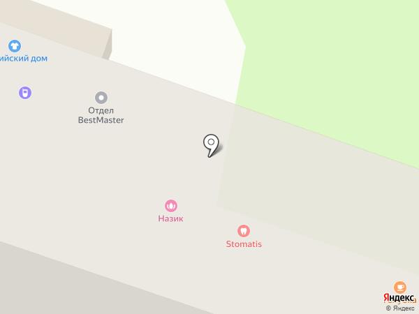 Ювелирная мастерская на карте Усть-Каменогорска