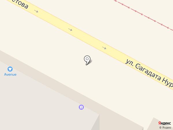 Сеть платежных терминалов, Kaspi bank на карте Усть-Каменогорска