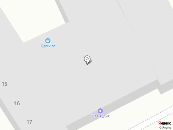 POS market на карте Усть-Каменогорска