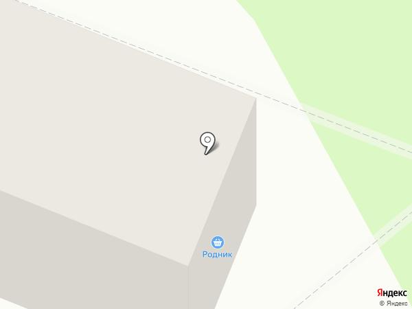 Родник на карте Усть-Каменогорска