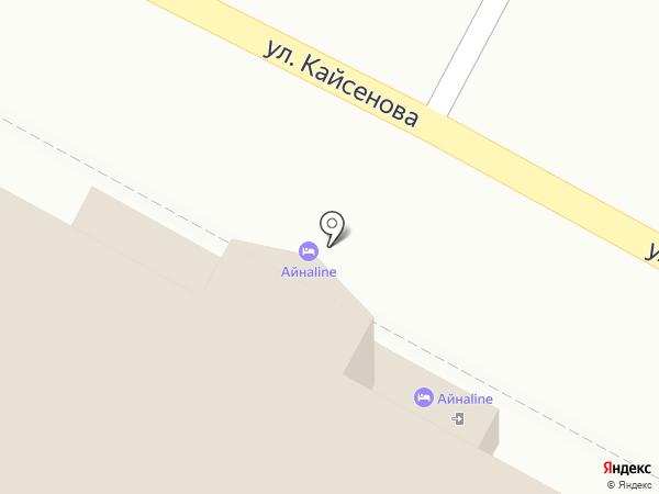 Che Guevara на карте Усть-Каменогорска