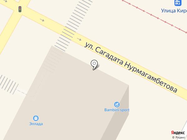 Vanda на карте Усть-Каменогорска