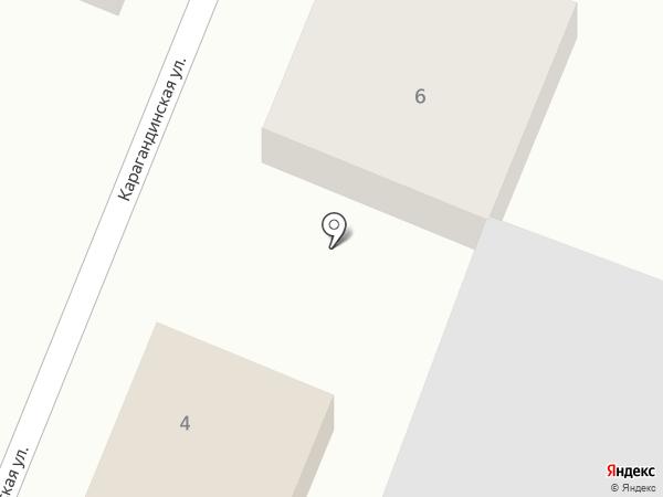Транспортная компания на карте Усть-Каменогорска