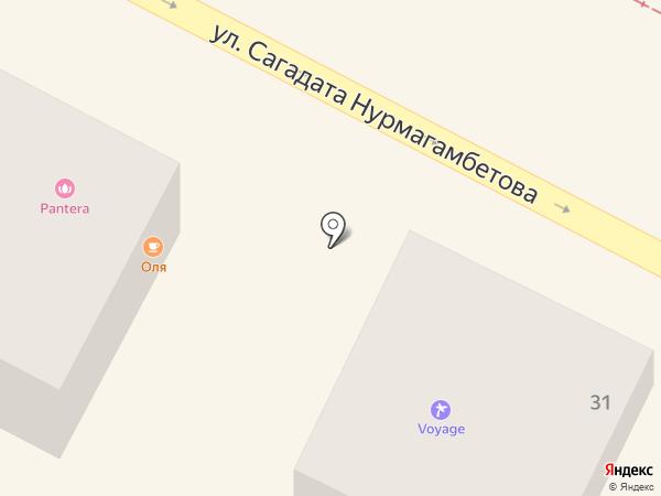 ЧИП на карте Усть-Каменогорска