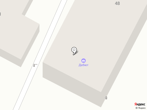 Нотариус Байтазанов Т.А. на карте Усть-Каменогорска