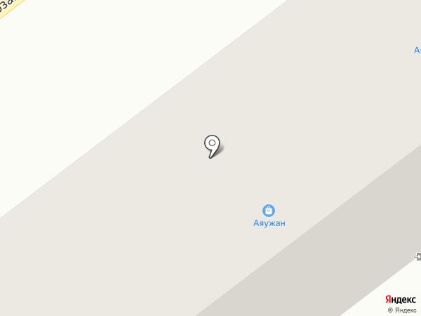 Автокорея на карте Усть-Каменогорска