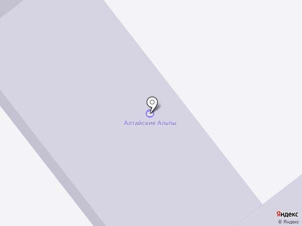 Средняя школа №36 Акимата г. Усть-Каменогорска на карте Усть-Каменогорска