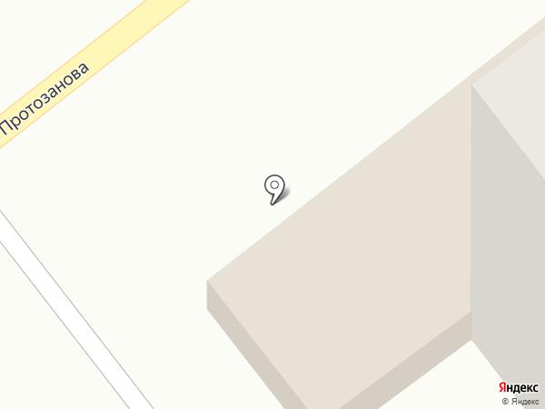 Аптека №80 на карте Усть-Каменогорска
