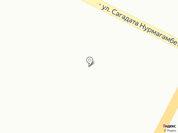 Нұршуақ на карте Усть-Каменогорска