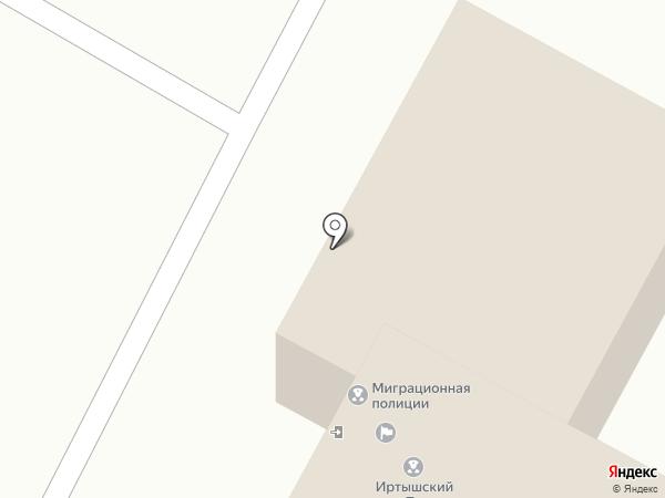 Отдел миграционной полиции на карте Усть-Каменогорска