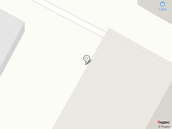Сара на карте Усть-Каменогорска