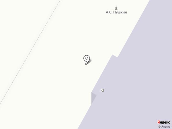 Восточно-Казахстанская областная библиотека им. А.С. Пушкина на карте Усть-Каменогорска